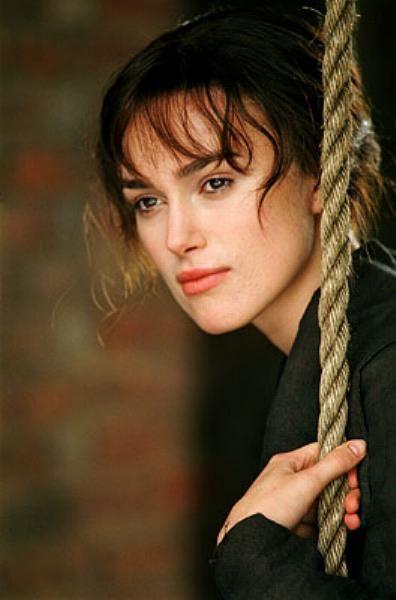 Keira Knightley, Elizabeth Bennet - Pride & Prejudice (2005) #janeausten #joewright