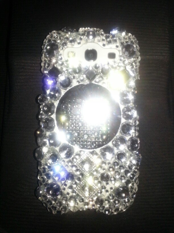 diy rhinestone phone case - photo #22