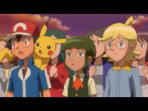 Pokemon X and Y Episode 73 - Battle at the Fashion Show!