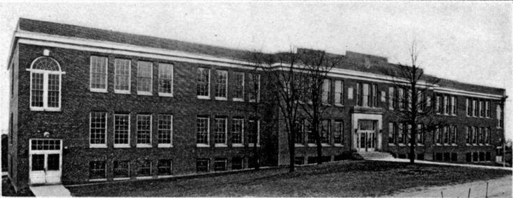 1970s  HILLSIDE PARK HIGH SCHOOL / WHITTED JUNIOR HIGH