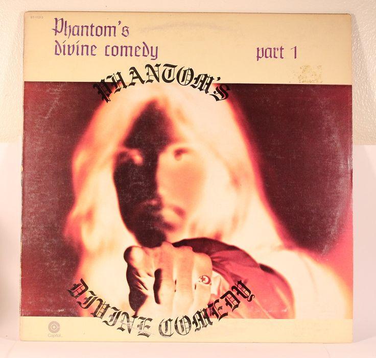 Phantom - Phantom's Divine Comedy Part 1 - Capitol ST11313 - USA, 1974