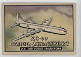 #7: XC-99 Cargo Transport U.S. Air Force Transport COMC REVIEWED Good to VG-EX (Trading Card) 1952 Topps Wings  Friend or Foe  R707-4 #126