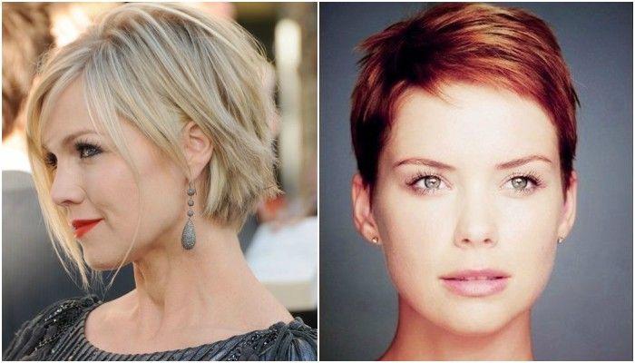 Schöne kurze Frisuren für Damen mit dünnen Haaren… Ja, auch Menschen mit dünnen Haaren kann super sexy Haarschnitte haben! Was denken Sie über #3?