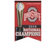 Buy Wincraft 17x26 Prem. Quality Banner-EVENT Flags & Banners Novelties and other Ohio State Buckeyes products at OhioStateBuckeyes.com