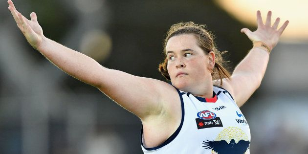There's An Adelaide Crows AFL Women's Player You Absolutely Need To Know About