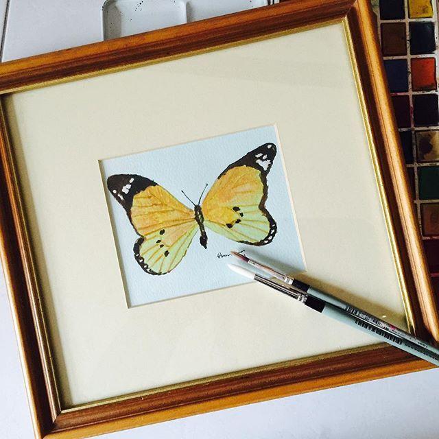 """Play as U Paint: Framed Watercolour Wall Art"" to an #inlinkz linkup!http://playasugo.blogspot.co.za/2015/09/play-as-u-paint.html"
