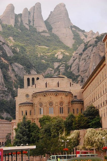 Montserrat near Barcelona, Spain   Gorgeous beyond words! After trekking up and down the mountain, be sure to try the beverages at the monastary store...