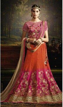 Circular Style Silk Fabric Designer Lehenga Choli in Deep Pink | FH518278758 #heenastyle, #designer, #lehengas, #choli, #collection, #women, #online, #wedding , #Bollywood, #stylish, #indian, #party, #ghagra, #casual, #sangeet, #mehendi, #navratri, #fashion, #boutique, #mode, #henna, #wedding, #fashion-week, #ceremony, #receptions, #ring , #dupatta , #chunni , @heenastyle , #Circular , #engagement