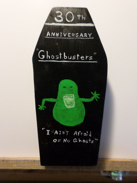 Ghost Busters 30th Anniversary Coffin Wall by StillwatersPaintings