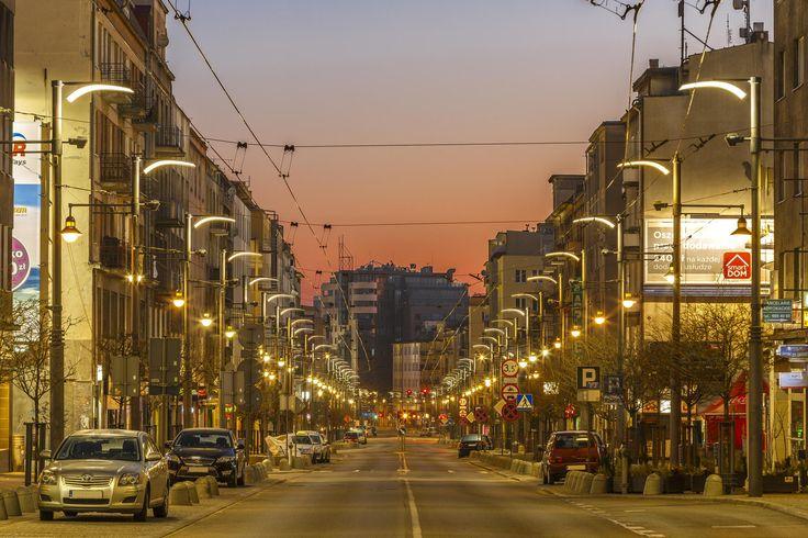 Swietojanska Street, Gdynia - one of my favorite places before sunrise