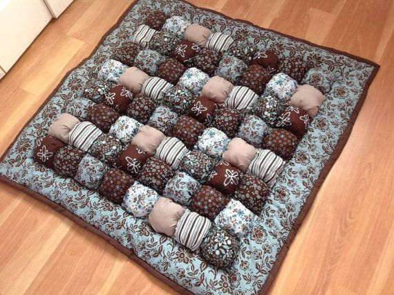 Baby Floor Time Bubble Puff Quilt by LuvinKatie on Etsy, $125.00
