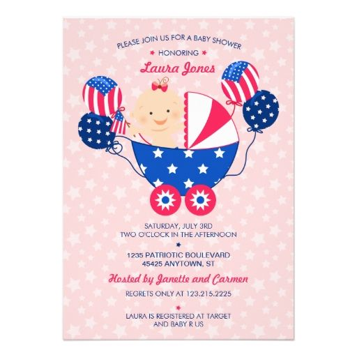 45 best Baby Shower Theme - 4th of July images on ...