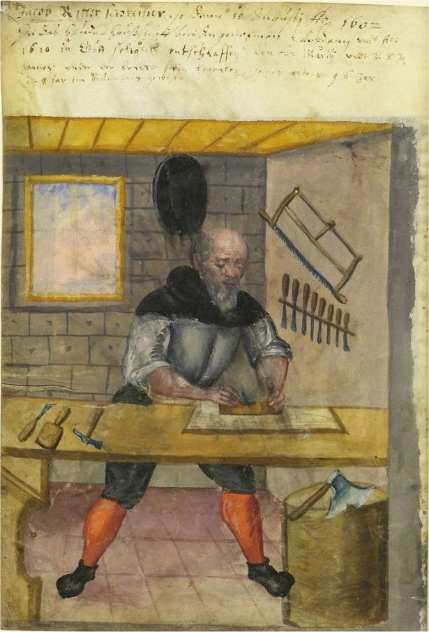 1500s: Crafts and trades, Germany