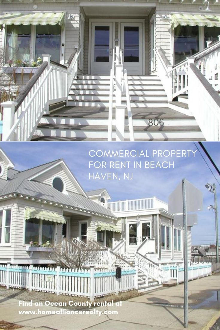 Beach Haven Lbi White House For Rent In The Commercial District Commercial Property For Rent Beach Haven Property For Rent