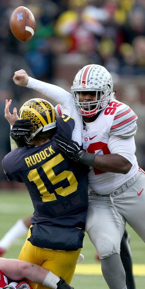 Adolphus Washington #92 } ******* Ohio State Football } #Buckeyes #GoBucks…