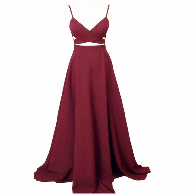 Sexy Burgundy Prom Dresses,Spaghetti Straps Prom Gowns,Sexy Prom Dresses,Prom Dresses Long,Prom Dresses 2017,Evening Party Dresses,Royal Blue Prom Dresses
