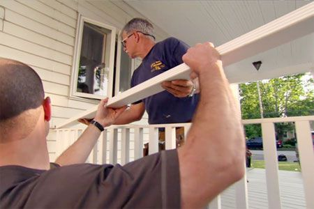 with This Old House general contractor Tom Silva | thisoldhouse.com | from How to Build a Porch Rail
