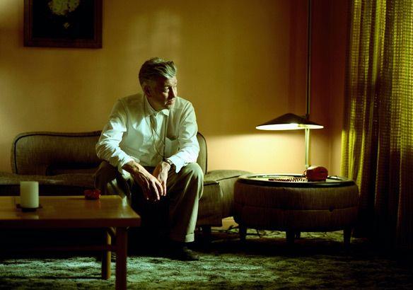 Photo of David Lynch, Inland Empire  My pal, Eric Curtis, just owning it ya'll.