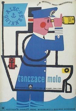 Designer: Hibner. Title: Tanczace Molo [Barnacle Bill]. 1957. £320