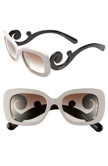 Prada 'Baroque' 54mm Sunglasses   Nordstrom