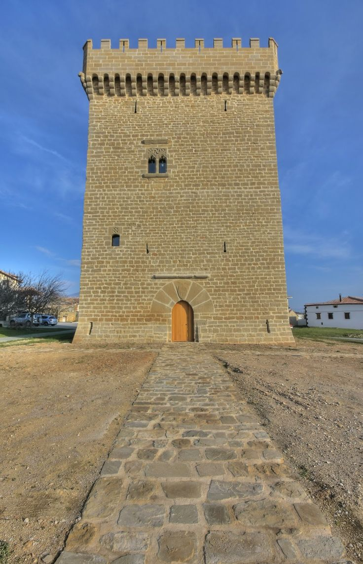 Torre de Olcoz Navarra .Spain .