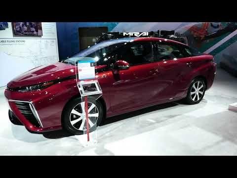 (397) New 2018 Toyota Mirai Hydrogen Fuel Cell Car - Walk Around - 2017 LA Auto Show - YouTube