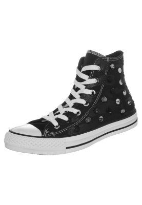 CHUCK TAYLOR ALL STAR HI PAINTED HARDWARE - Sneakers alte - black