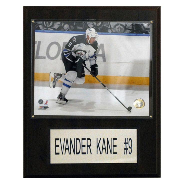 NHL 12 x 15 in. Evander Kane Winnipeg Jets Player Plaque - 1215EKANEJETS