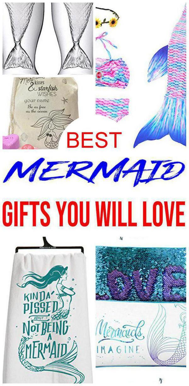 Best Mermaid Gifts Mermaid Gifts Best Birthday Gifts Mermaid