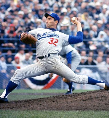 Sandy Koufax -- I got to see him pitch in the World Series.  Thank you Daddy for so many wonderful memories.