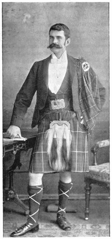 This is Alexander Fraser - taken 1894 . He was the chairman of the clan gathering in Toronto for Clan Fraser. These frasers go back to Lord Lovat.