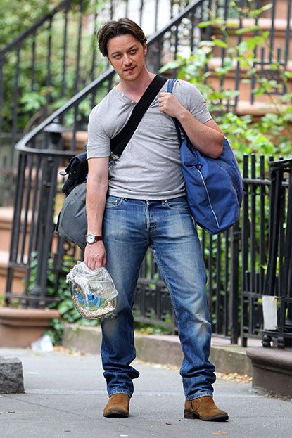 the beautiful bulge of James McAvoy