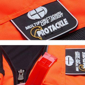 Mens Multi Pockets Sea Fishing Clothes Floating Objects Removable Life Jacket Vest at Banggood