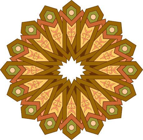 Nanoworld Encyclopedia 2004 / Орнаменты (арабески) (bmp, htm)