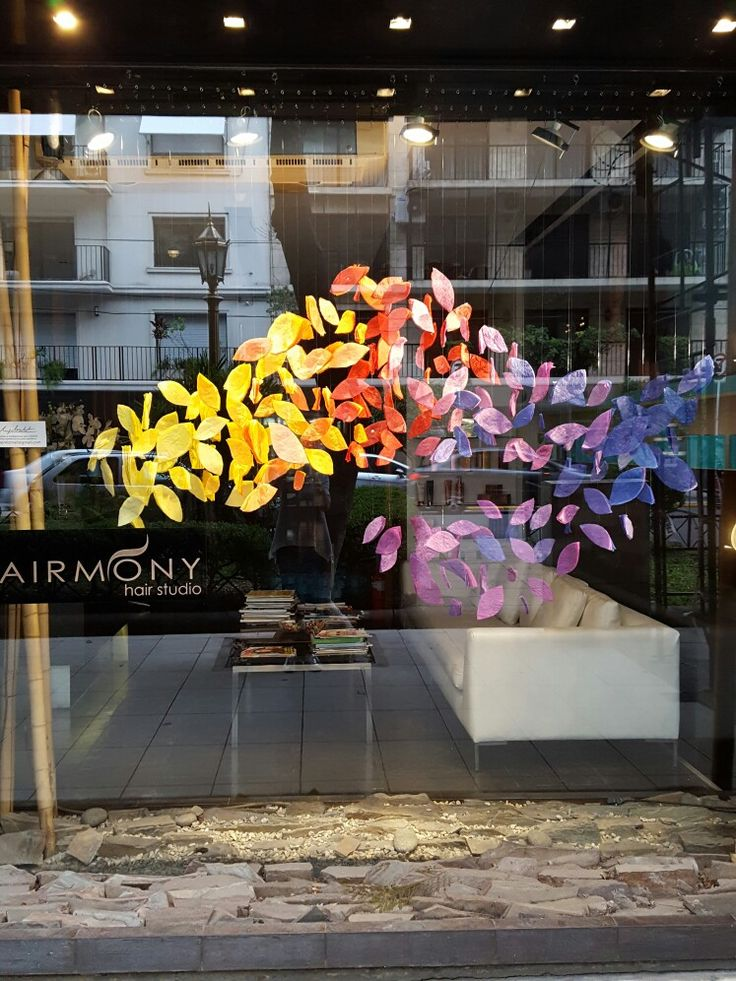 Paper instalation Hairmony Bs.As. March 2018