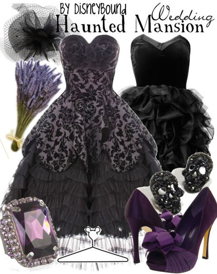 YES! Totally not a goth chick, but I can't not love something Disney-related/the