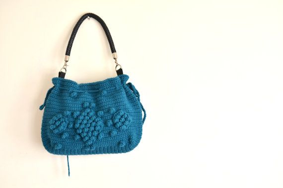 Hey, I found this really awesome Etsy listing at https://www.etsy.com/ru/listing/113589934/handmade-petrol-blue-knit-bag-celebrity