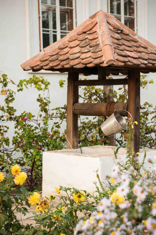 Traditional water fountain #parishhouse #guesthouse #waterfountain #traditional #visittransylvania @Cincsor.Transylvania.Guesthouses