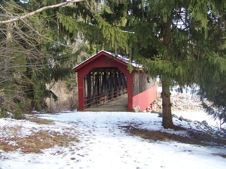 Buck's Harrity Covered Bridge  Carbon County, PA