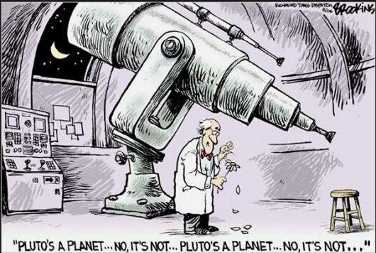 Γιατί ο Πλούτωνας δεν θεωρείται πλανήτης