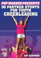 Pop Warner Presents 30 Partner Stunts for Youth Cheerleading - with Jen Schower,  Pop Warner Cheerleading Coach    Get expert advice and instruction from Pop Warner Cheerleading Coach Jen Schower with demonstrations from Championship cheerleaders from Jersey Shore Pop Warner!
