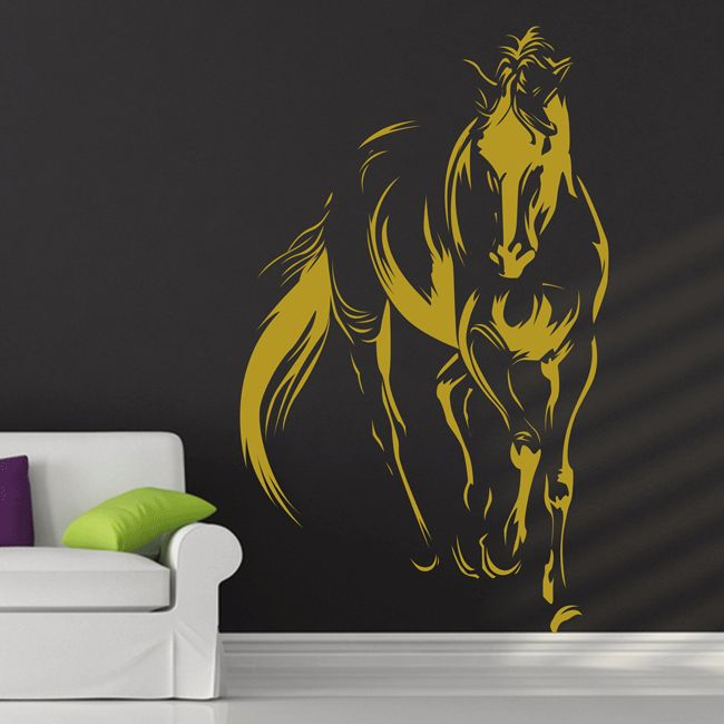 148 best horse tattoo images on pinterest equine art for Horse wall decals