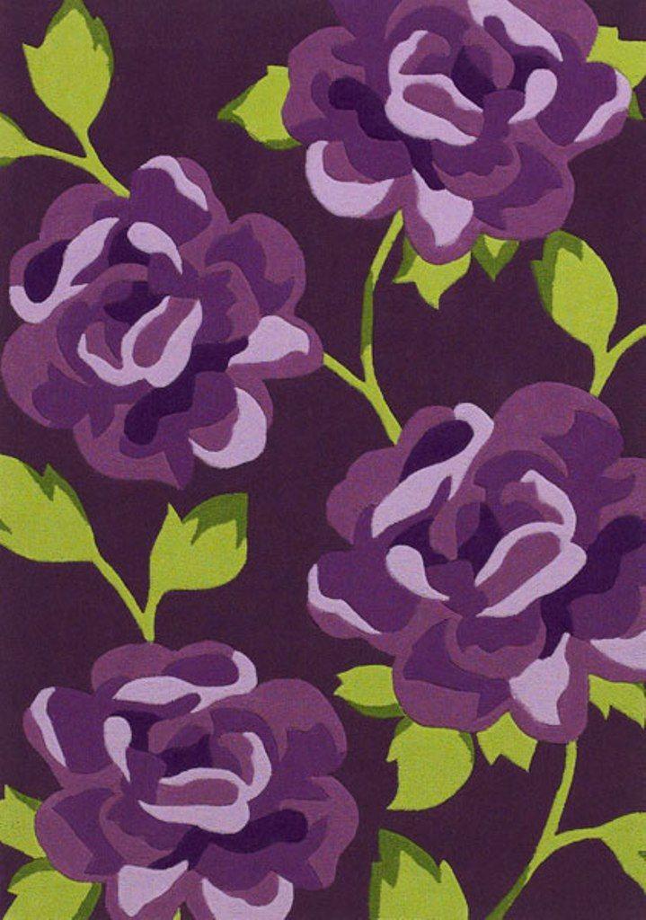 Purple Green Rug Roselawnlutheran