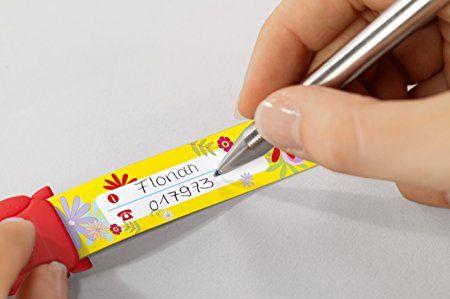Sigel ID008 Kinder-Sicherheits-Armband, Motiv Blumen, zum Beschriften, 19,7 cm lang: Amazon.de: Bürobedarf & Schreibwaren