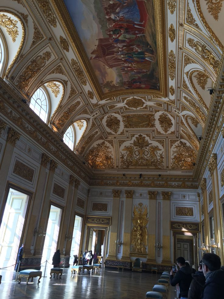 In the Royal Palace of Caserta
