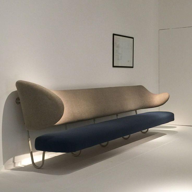 Finn Juhl / Wall mounted sofa, 1953