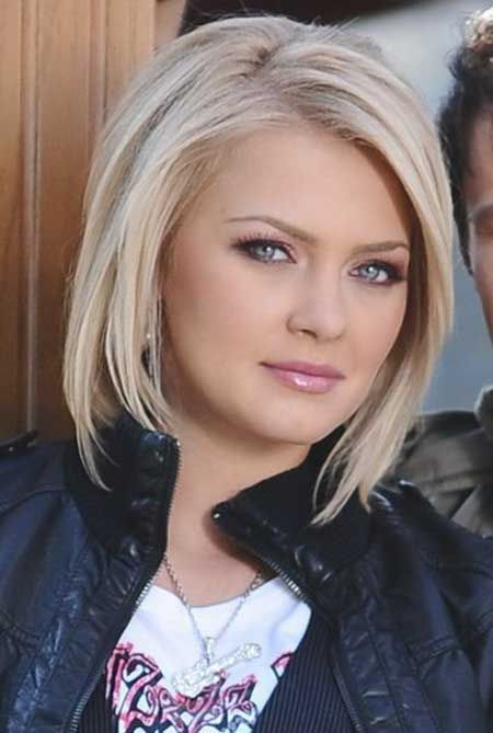 Wavy Layered Hairstyles | Related Medium Layered Haircuts For The Women With Chubby Cheek