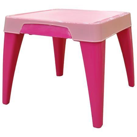 """Little Angel Детский стол """"Я расту"""", Little Angel, розовый  — 1869р.  Детский стол """"Я расту"""", Little Angel, розовый ‒ это детская мебель серии """"Я расту"""" от отечественного производителя . Детский стол изготовлен из экологически безопасных материалов ‒ полипропилена и ПВХ ‒ это сочетание обеспечивает легкость мебели, прочность, устойчивость к физическим и химическим воздействиям. Окраска стола обладает высокой устойчивостью цвета к внешним воздействиям.  Детский стол """"Я расту"""", Little Angel…"""