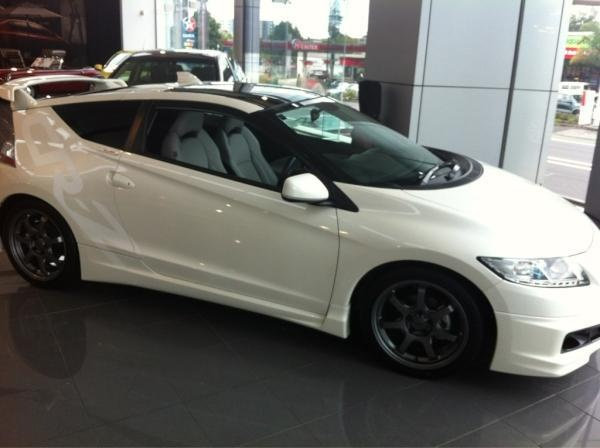 honda crz mugen in the newmarket store