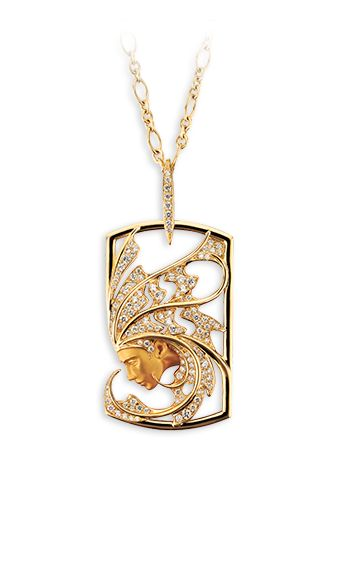 Magerit - Atlantis Collection: Necklace Sirena Aire
